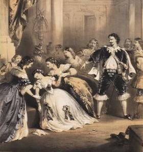 La traviata, illustrazione