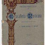 Cavalleria rusticana, libretto d'opera di Giovanni Targioni-Tozzetti e Guido Menasci