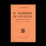 Il barbiere di Siviglia: libretto d'opera di Cesare Sterbini