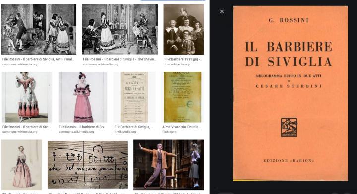 Il barbiere di Siviglia, breve analisi dell''opera lirica di Rossini