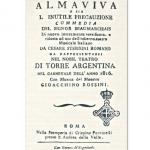 La disastrosa prima del 'Barbiere' di Rossini, tra fischi, schiamazzi e incidenti di scena