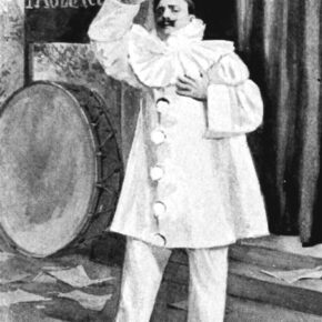 pagliacci, opera di Ruggero Leoncavallo; Enrico Caruso interpreta Canio, il protagonista